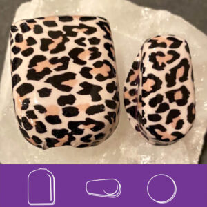 Black & Cream Leopard Omni and G6 covers