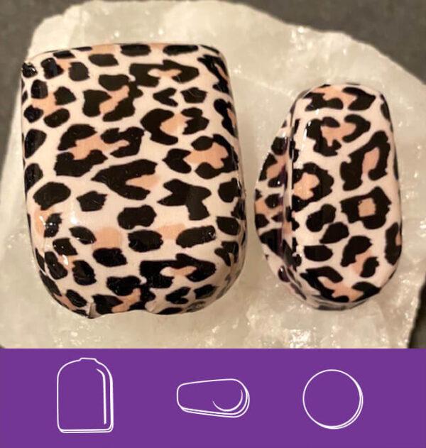 Black & Cream Leopard Omni and G6 covers