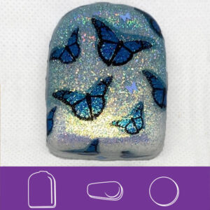 Blue Morpho Iridescent Butterfly Omni Cover