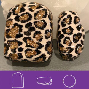 Leopard Bling Omni and G6 covers